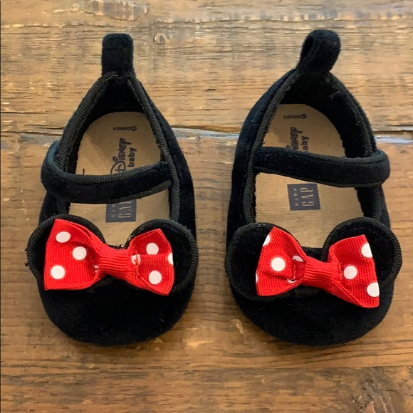 Disney Baby Gap Minnie Mouse Shoes